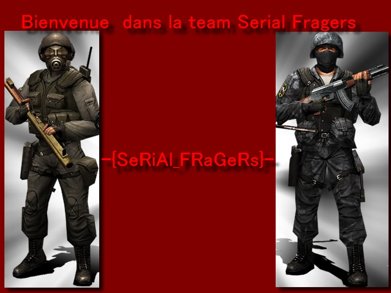 bienvenue chez les serial-fragers Index du Forum