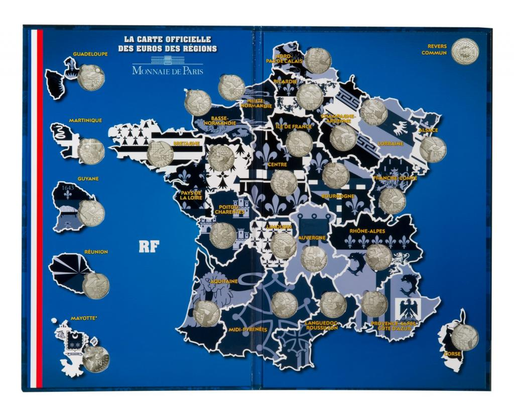 Echange et discussion sur la nouvelle s rie des 10 euros r gions de france - Rangement pieces euros ...