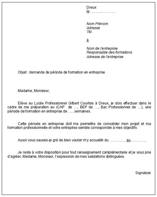 Télécharger demande de stage de medecine PDF | demande de ...