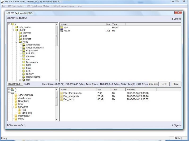 viewty-x :: [Ku990/Tuto] Mettre à jour son firmware