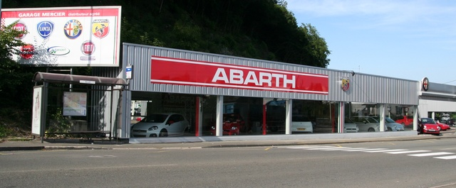 abarth assetto corse le forum est parrain par le garage mercier. Black Bedroom Furniture Sets. Home Design Ideas