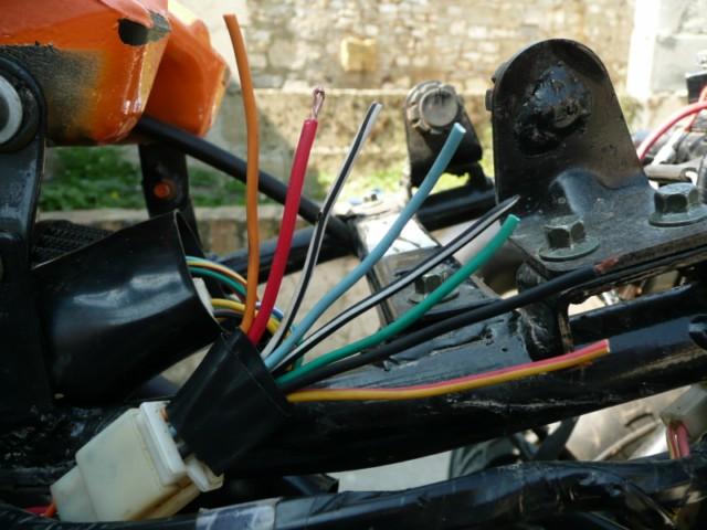 Chinese quad comment rebrancher apr s avoir retir l 39 alarme - Branchement coupe circuit moto ...