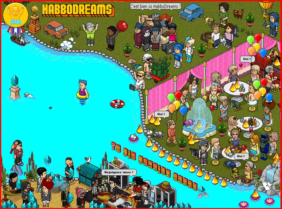 Habbo Dreams Index du Forum