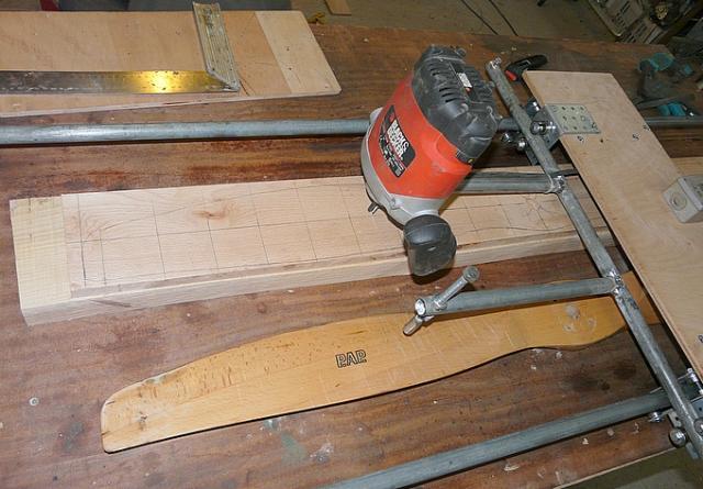 comment reparer une helice en bois