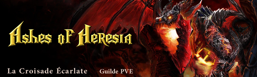 Ashes of Heresia Index du Forum