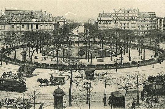 Passions et partage paris autrefois - La porte d italie sarreguemines ...
