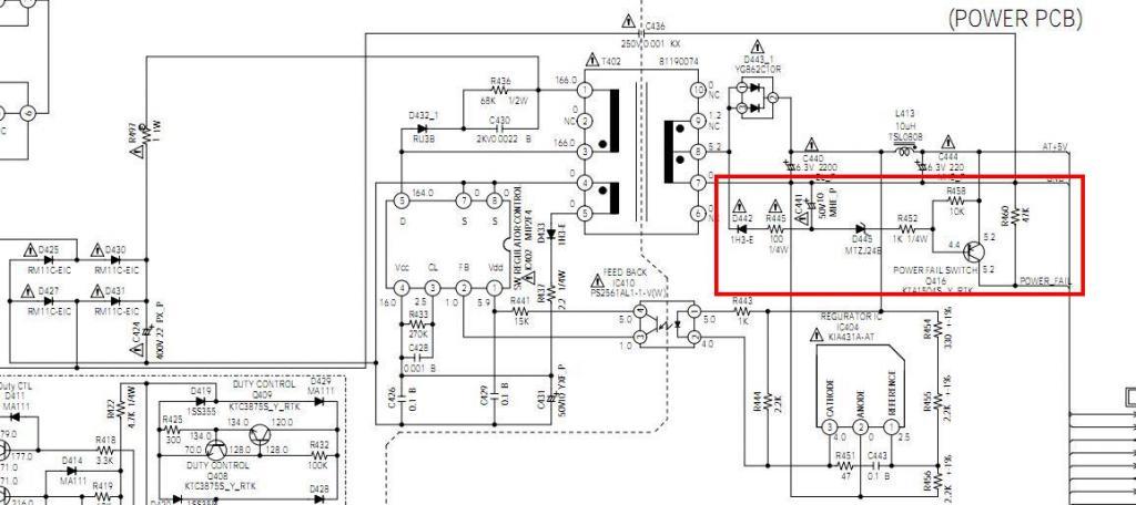 teleservice forum d u00e9pannage electronique     resolu  lcd