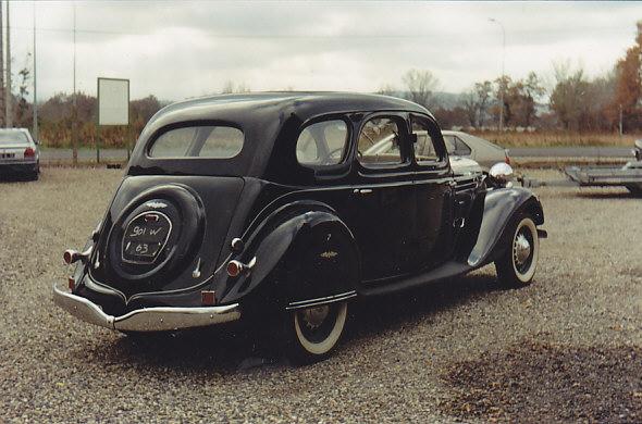 les renault d 39 avant guerre chenard et walcker aigle 8 limousine 1937. Black Bedroom Furniture Sets. Home Design Ideas