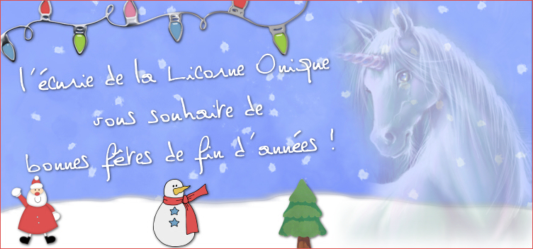 L'écurie de la licorne onirique Index du Forum