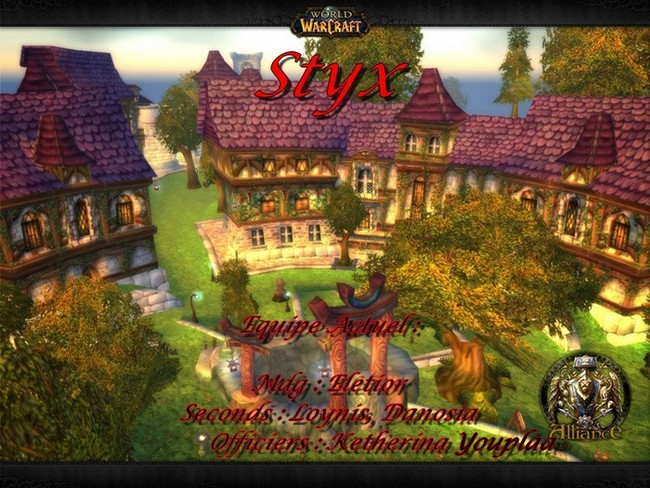 La Guild Styx Index du Forum