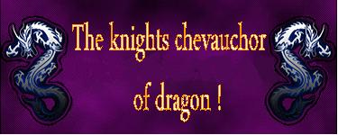 The knights chevauchor of dragon ! Index du Forum
