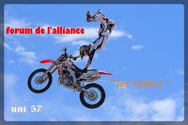 les riders Index du Forum