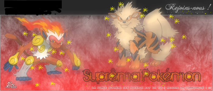 Suprema Pokemon Index du Forum