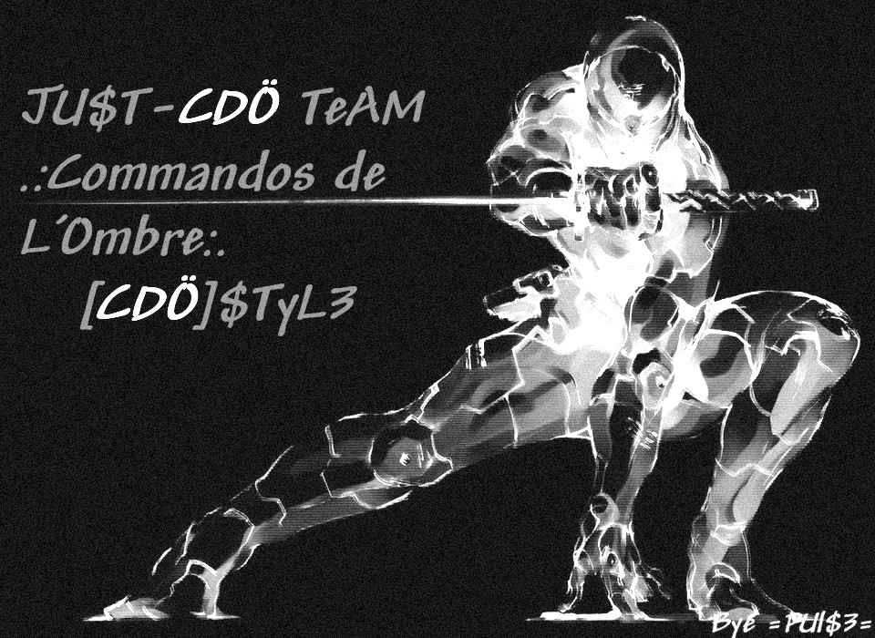 Team [CDO].:Commandos De L'Ombre Index du Forum