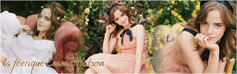La féerique Emma Watson Index du Forum