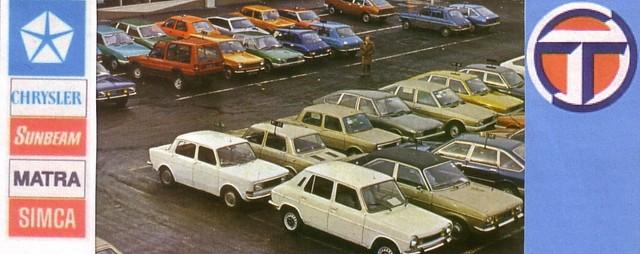 La deuxième vie de Simca : 1970-1986 Index du Forum