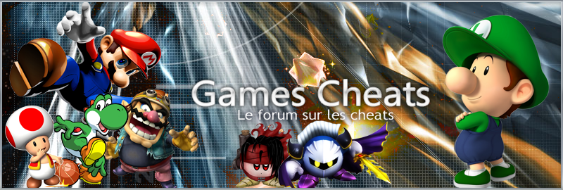 Games Cheats Index du Forum