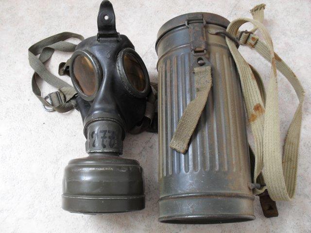 militaria allemand wwii masque anti gaz. Black Bedroom Furniture Sets. Home Design Ideas