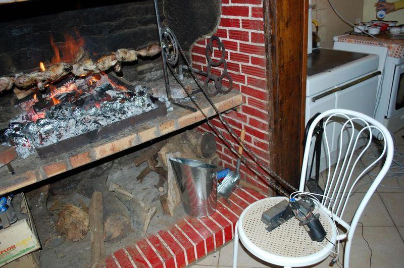 le forum chasse et chien petite soir e b casse au feu de bois. Black Bedroom Furniture Sets. Home Design Ideas