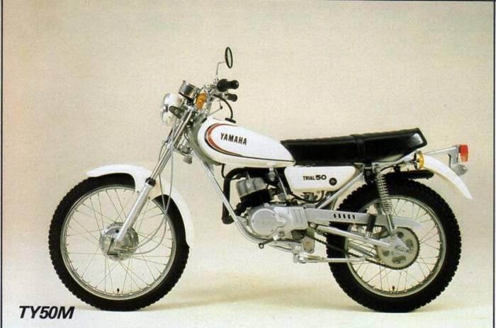 moto yamaha annee 80