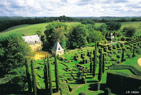 Passions et partage les jardins du manoir d 39 erignac for Jardin 0 l4anglaise
