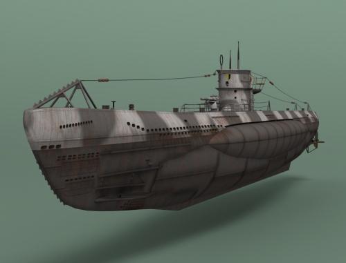 ... 6ème :: les sous marins allemands de la seconde guerre mondiale