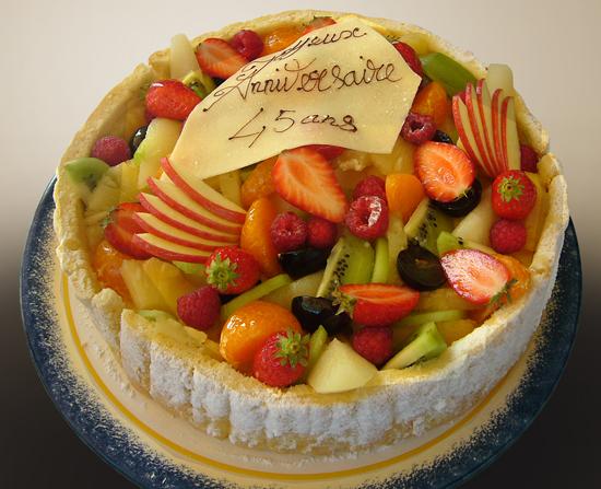recette de gateau aux fruits pour anniversaire | gâteaux de