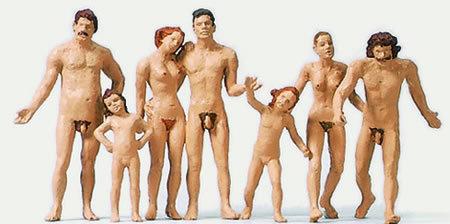 Familien nackt