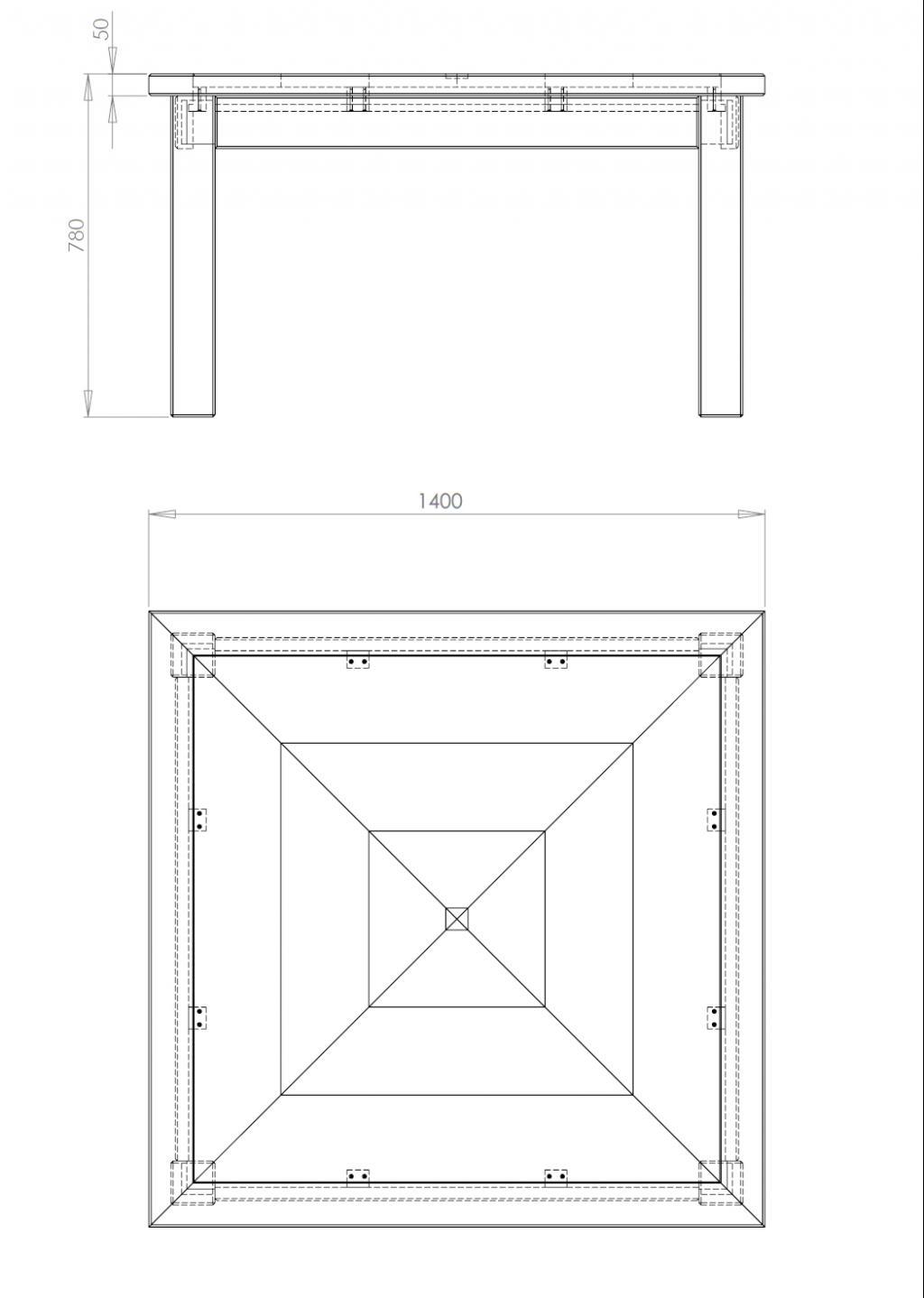 Forum association les copeaux fabriquer une table for Plateau pour table a manger