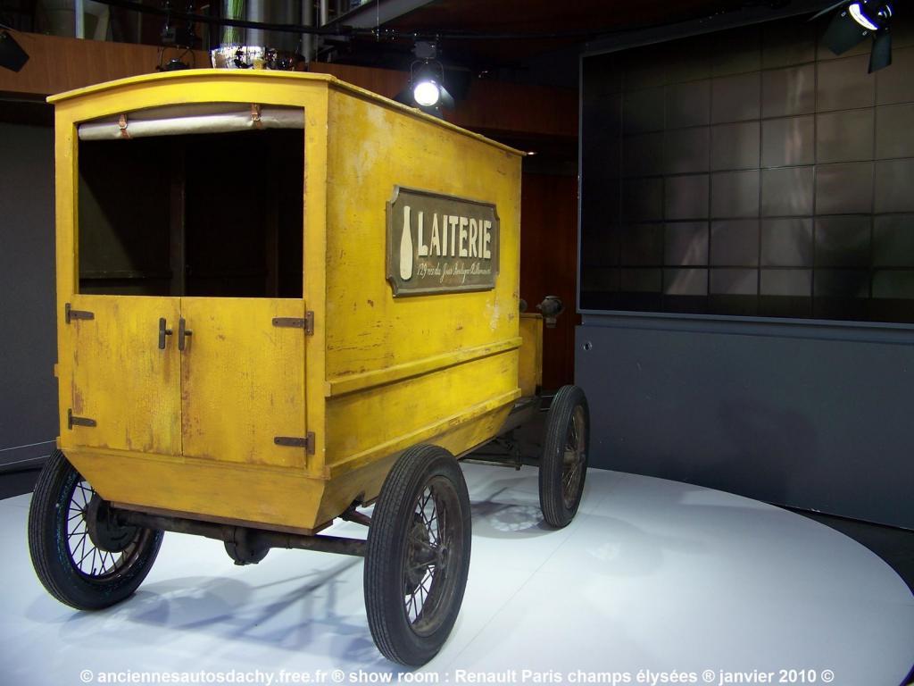Les renault d 39 avant guerre le laitier renault 1901 for Garage renault saint denis