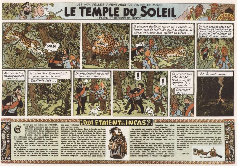 Les aventures de tintin ditions du temple du soleil - Les portes du penitencier version originale ...