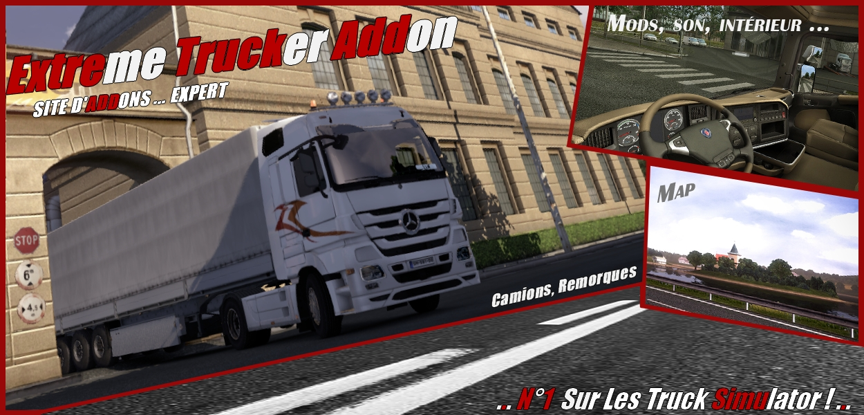 Extreme Trucker addon :: addon de simulation Routière Forum Index