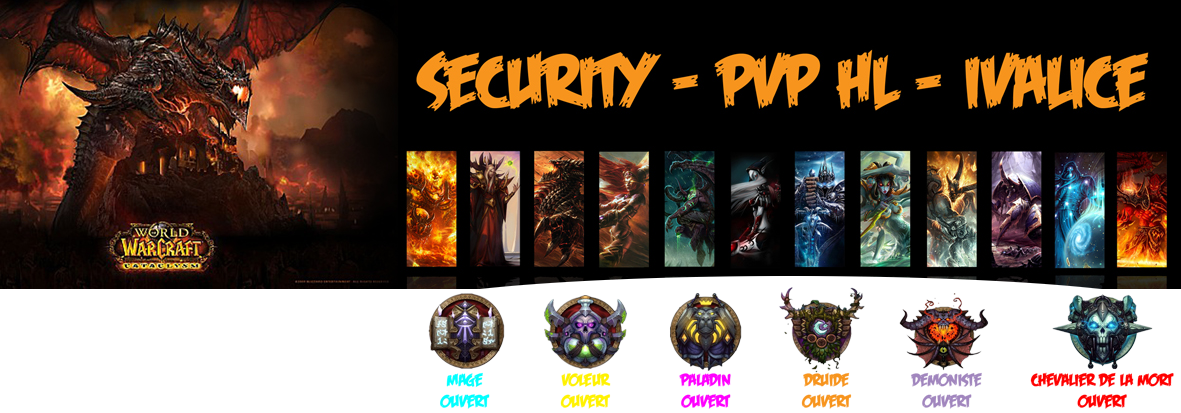 security pvp hl Index du Forum