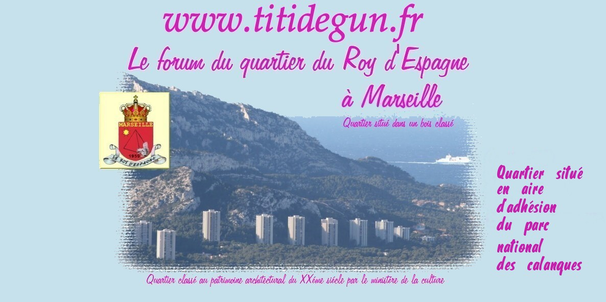 www.titidegun.fr   -  Le forum du quartier du Roy d'espagne à MARSEILLE Index du Forum