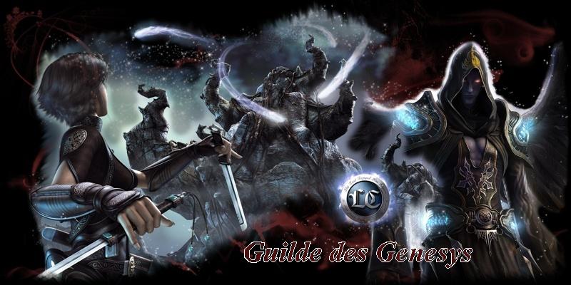 Guilde Genesys Index du Forum