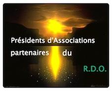 Présidents d'associations partenaires RDO