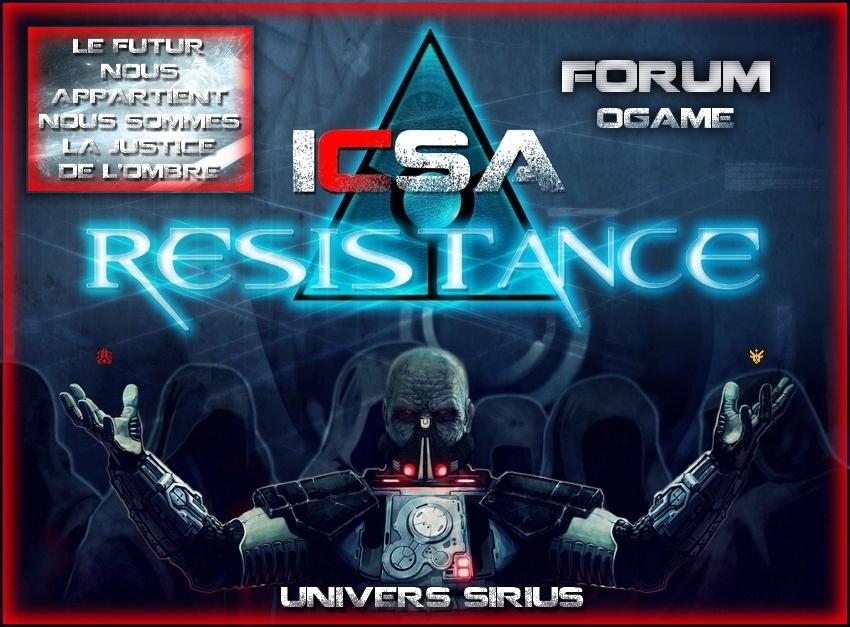 Forum ICSA Index du Forum