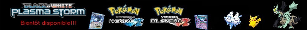 pokémon noir et blanc 2 Index du Forum