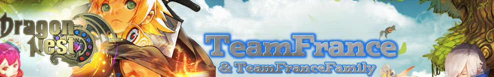 TeamFrance Dragon Nest EU Index du Forum