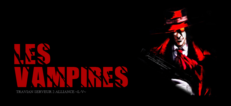 Alliance ~L-V~ : les vampires Index du Forum