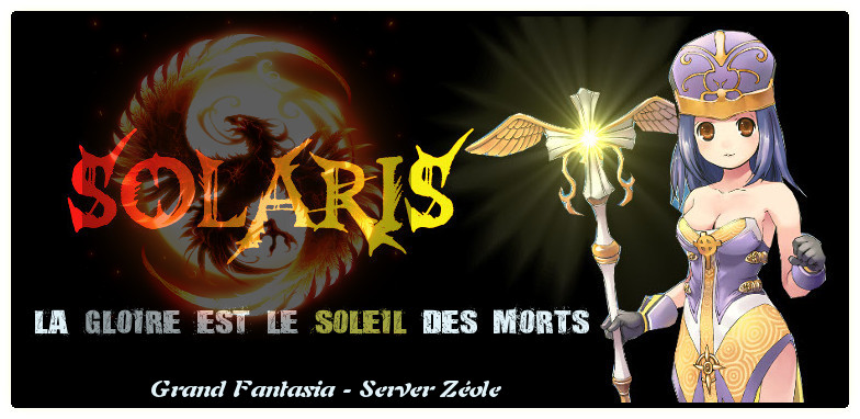 Guilde solaris Forum Index