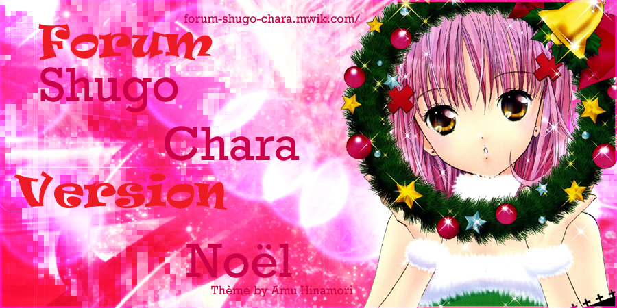 Shugo Chara Index du Forum