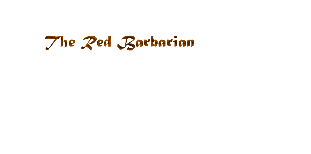 the red barbarian Index du Forum