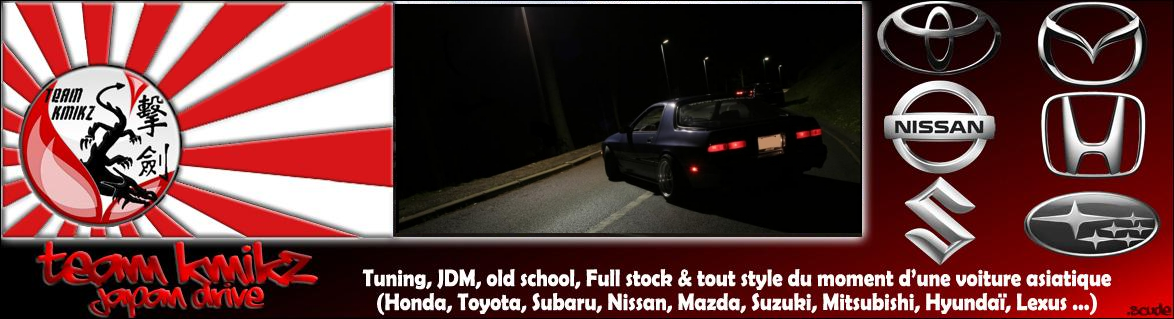 Team-Kmikz Japan Drive Forum Index