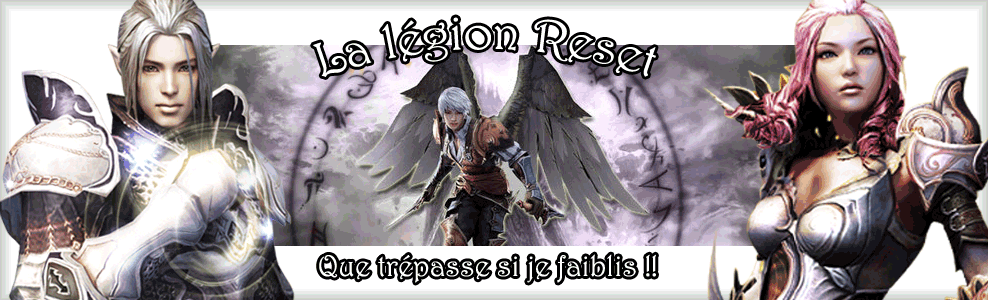RESET Index du Forum