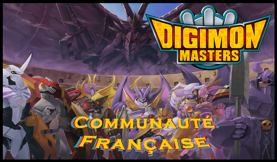 Communauté Française de Digimon Masters Online Index du Forum