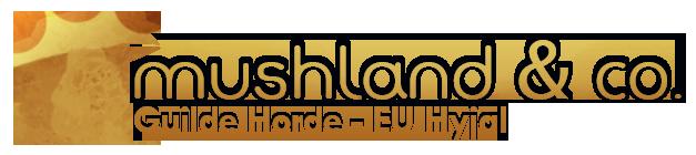 Mushland And Co. Index du Forum