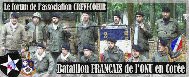Le bataillon Français de l'ONU en Corée. 1950-1953.  French Battalion in the Korean War  Forum Index