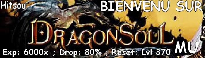 dragonsoulmu Index du Forum