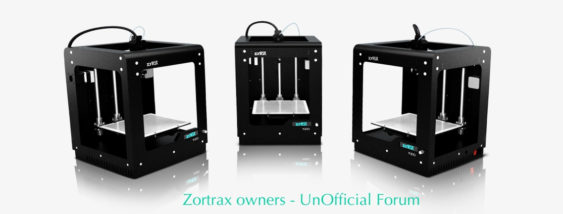 Zortrax M200 printer Forum Index